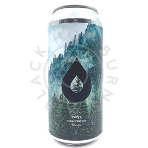 Polly's Brew Co Pines IPA 6.4% (440ml can)-Hop Burns & Black