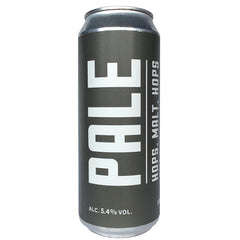 Marble Pale 5.4% (500ml can)-Hop Burns & Black