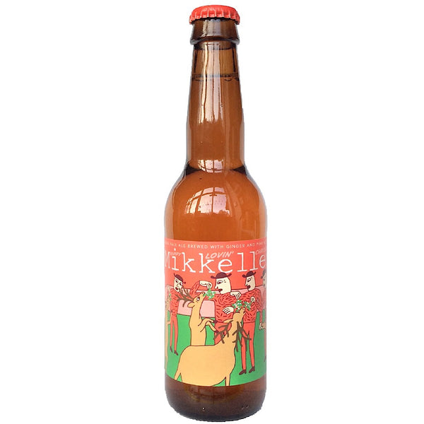Mikkeller Hoppy Lovin' Christmas IPA 7.8% (330ml)-Hop Burns & Black