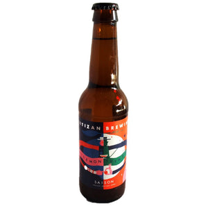 Partizan Lemon & Thyme Saison 3.8% (330ml)-Hop Burns & Black