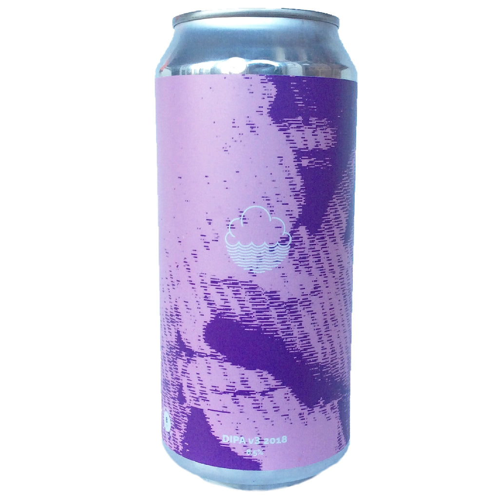 Cloudwater DIPA V3 2018 8.5% (440ml can)-Hop Burns & Black