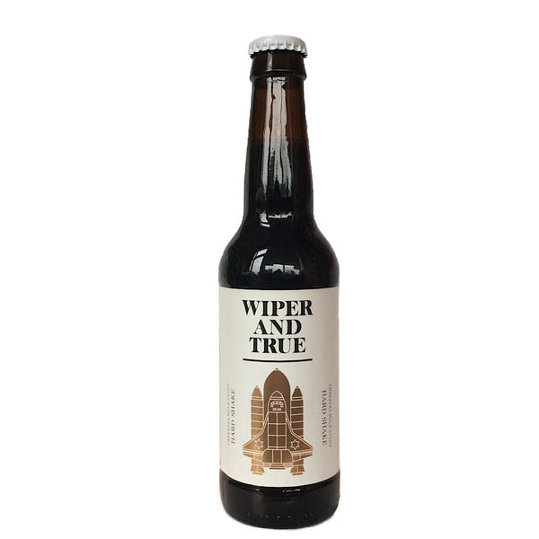 Wiper & True Hard Shake Imperial Milk Stout 10% (330ml)-Hop Burns & Black