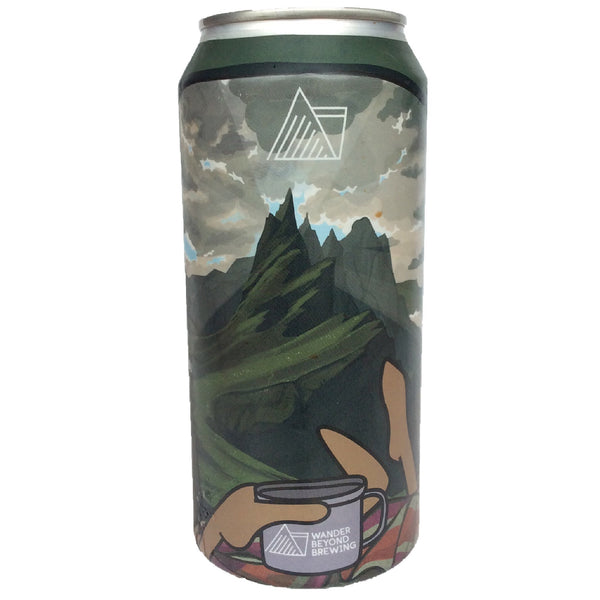 Wander Beyond Quiet After the Storm Breakfast Stout 7% (440ml can)-Hop Burns & Black