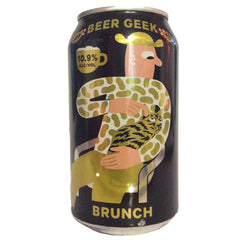 Mikkeller San Diego Beer Geek Brunch Imperial Stout 10.9% (355ml can)-Hop Burns & Black