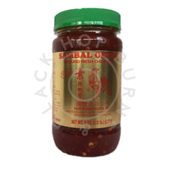 Huy Fong Sambal Oelek Ground Fresh Chili Paste (226g)-Hop Burns & Black