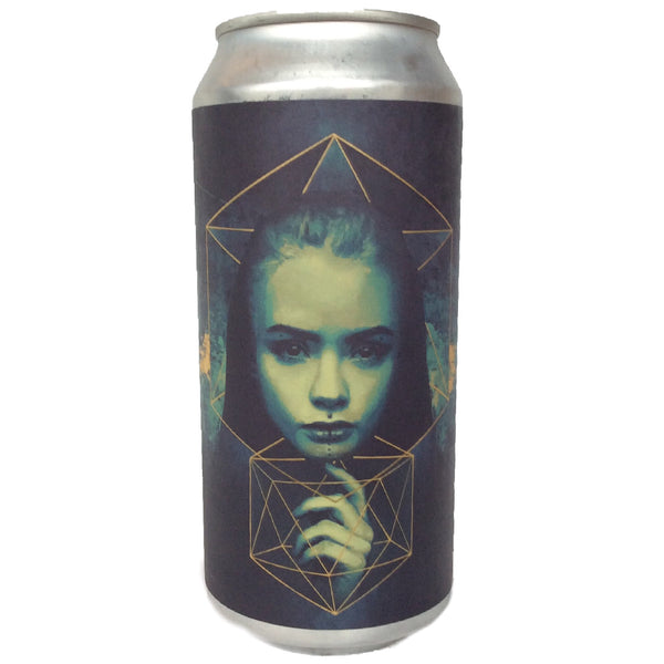 Northern Monk x Other Half Infinity Vortex DDH IPA Patrons Project 13.01 7.4% (440ml can)-Hop Burns & Black