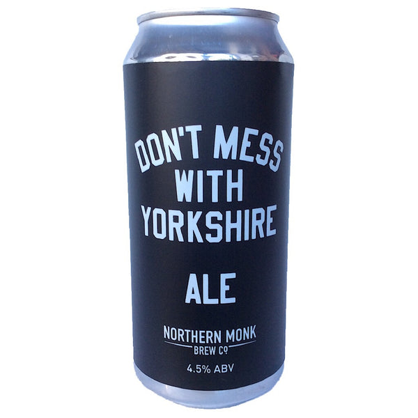 Northern Monk Don't Mess With Yorkshire Pale Ale 4.5% (440ml can)-Hop Burns & Black
