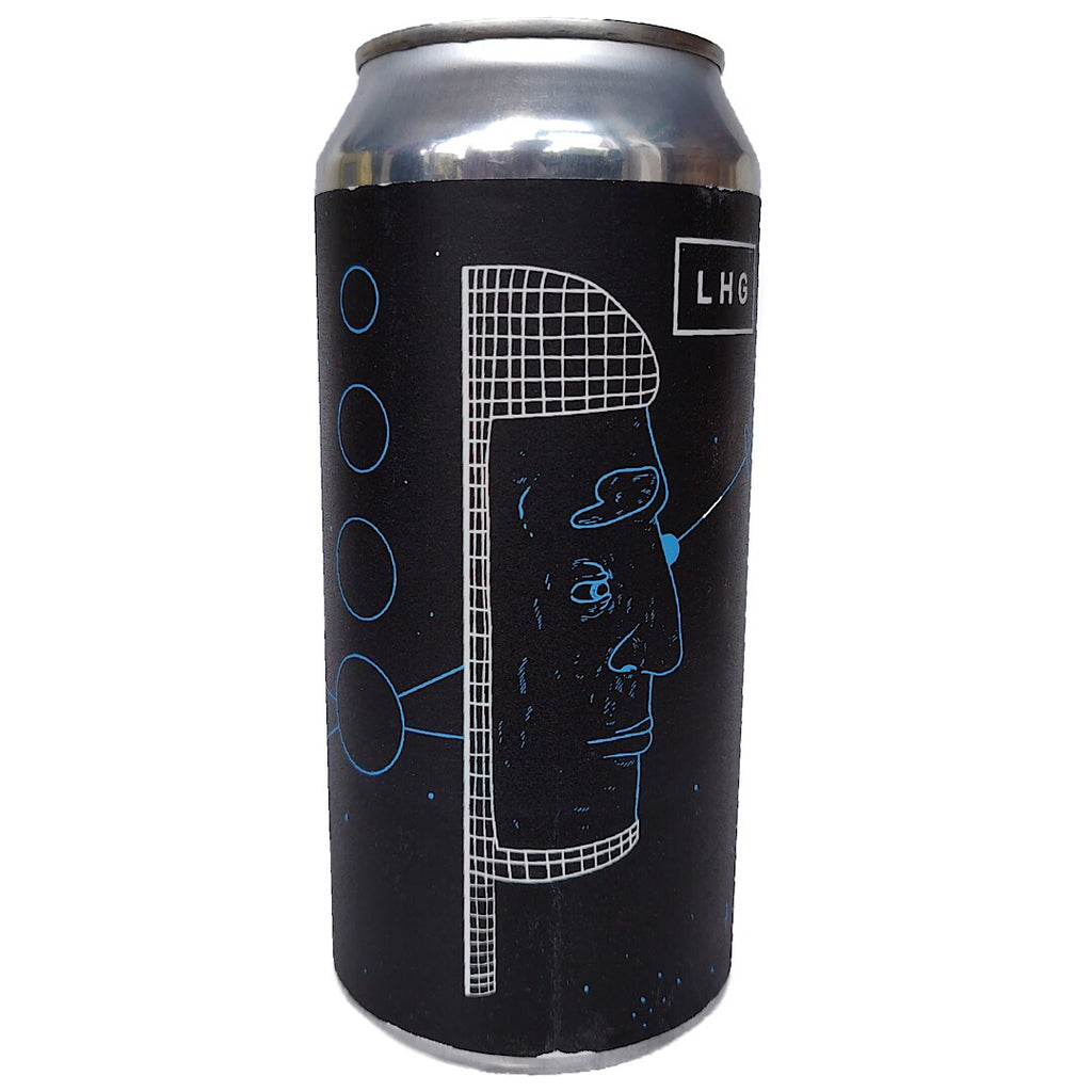 Left Handed Giant Time Loop Foreign Extra Stout 7% (440ml can)-Hop Burns & Black