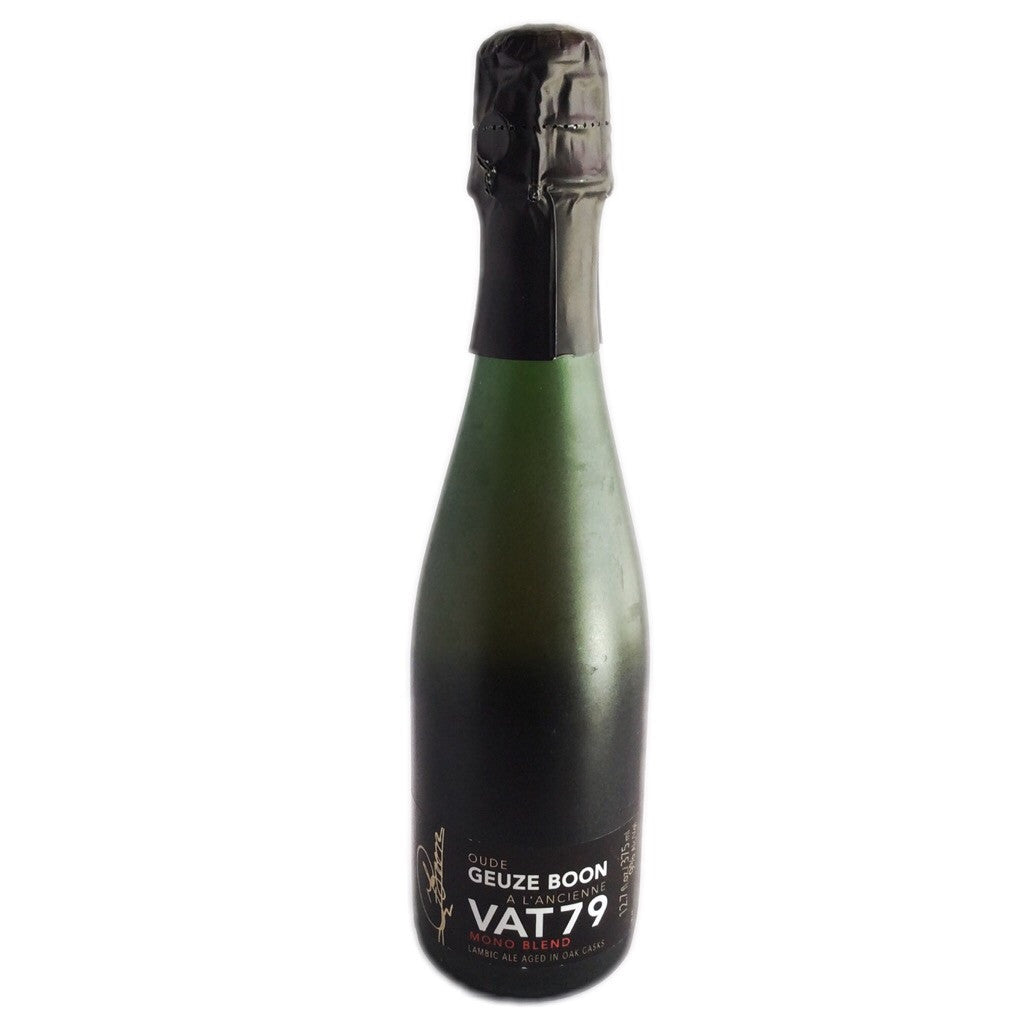 Boon Oude Geuze Vat 79 Mono Blend 9% (375ml)-Hop Burns & Black