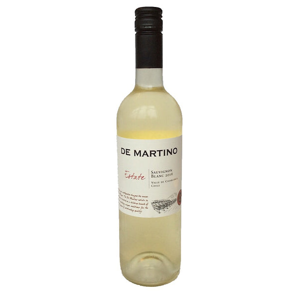 De Martino Estate Sauvignon Blanc 2017 12.5% (750ml)-Hop Burns & Black