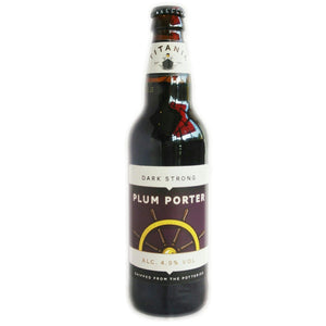 Titanic Plum Porter 4.9% (500ml)-Hop Burns & Black