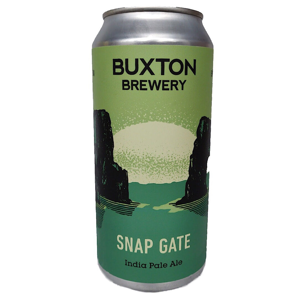 Buxton Brewery Snap Gate IPA 7.2% (440ml can)-Hop Burns & Black