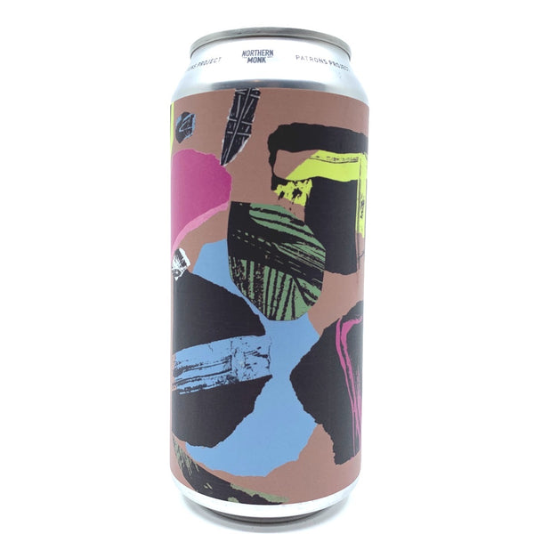 Northern Monk Everyday Abstract DDH IPA Patrons Project 25.01 7.2% (440ml can)-Hop Burns & Black