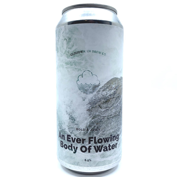 Cloudwater An Ever Flowing Body Of Water IPA 6.5% (440ml can)-Hop Burns & Black
