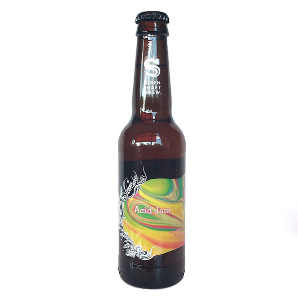 Siren Acid Jam Imperial Kettle Sour Blend 9.7% (330ml)-Hop Burns & Black