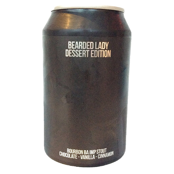 Magic Rock Bearded Lady Dessert Bourbon BA Imperial Stout 10.5% (330ml can)-Hop Burns & Black