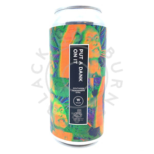 Wylam Put A Dank On It Double IPA 8.5% (440ml can)-Hop Burns & Black