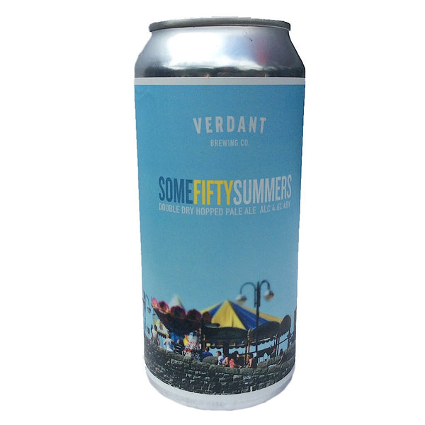 Verdant Some Fifty Summers DDH Pale Ale 4.6% (440ml can)-Hop Burns & Black