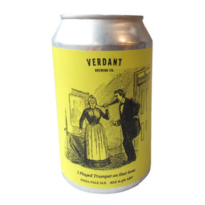 Verdant I Played Trumpet On That Tune IPA 6.5% (330ml can)-Hop Burns & Black