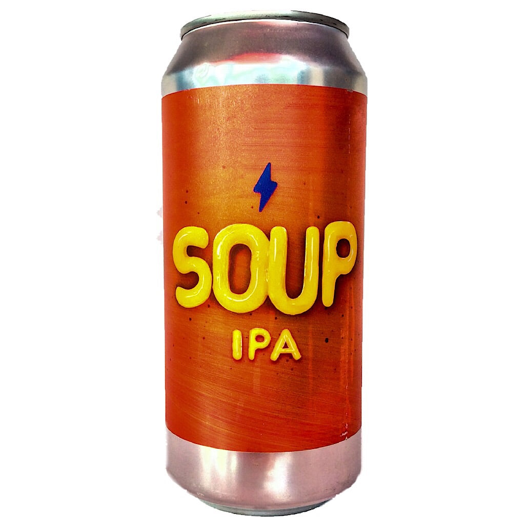 Garage Soup IPA 6% (440ml can)-Hop Burns & Black