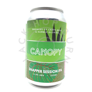 Canopy Snapper Session IPA 4.8% (330ml can)-Hop Burns & Black