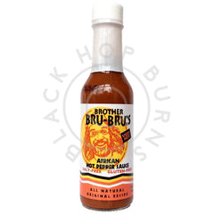 Brother Bru-Bru's African Hot Pepper Sauce (149ml)-Hop Burns & Black