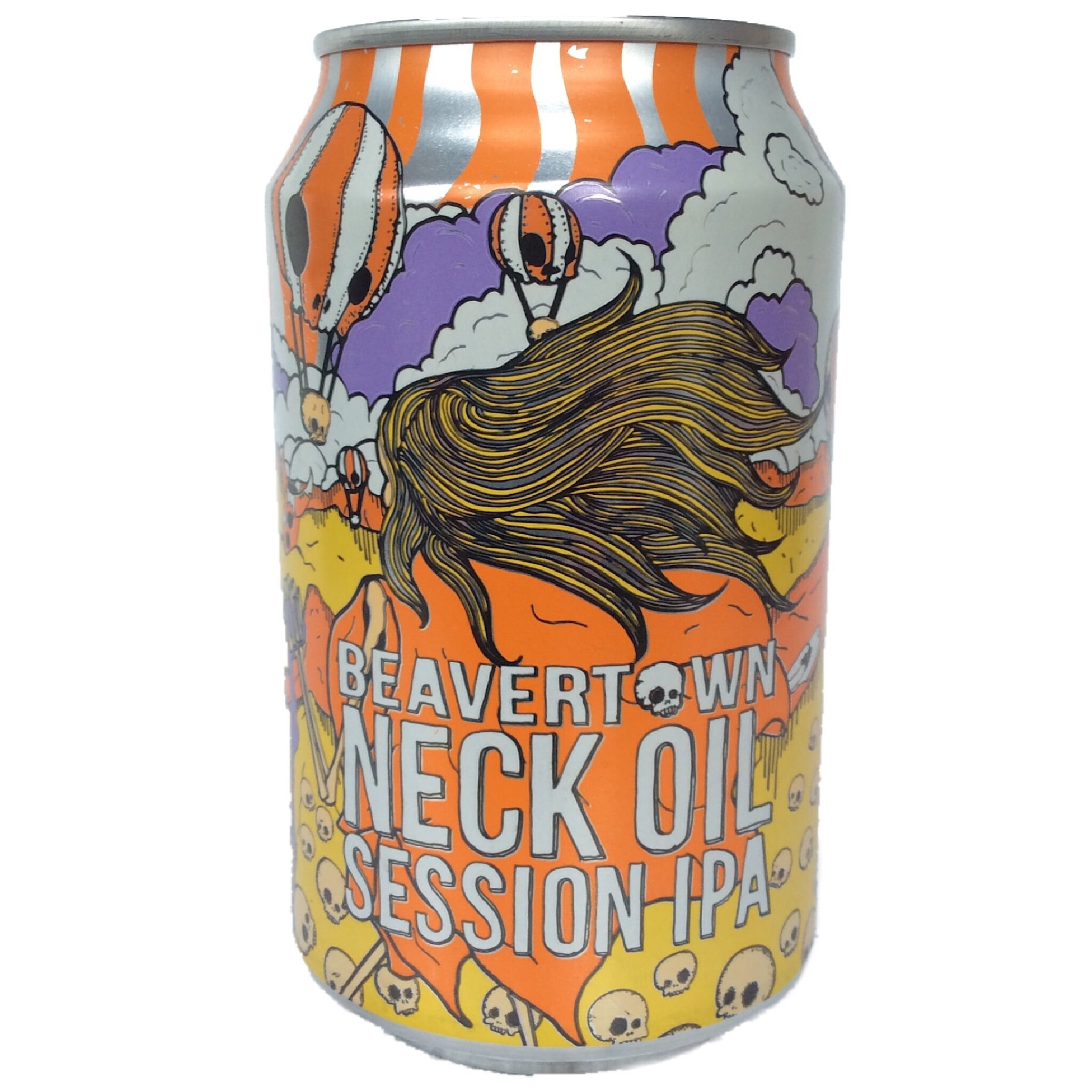 Beavertown Neck Oil Session IPA 4.3% (330ml Can)-Hop Burns & Black