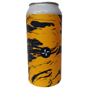 North Brewing Co Island In Space Sour DDH Pale 5.5% (440ml can)-Hop Burns & Black