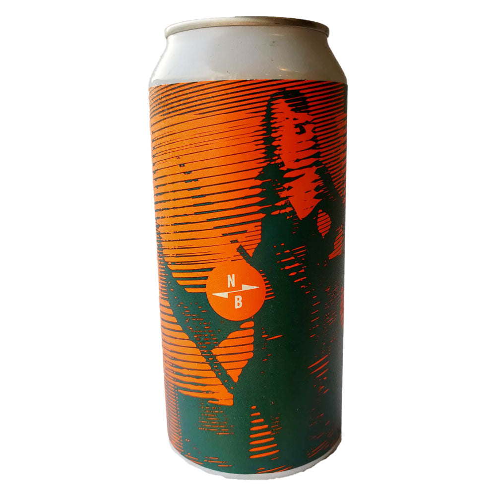 North Brewing Co Kurious Oranj IPA 6% (440ml can)-Hop Burns & Black