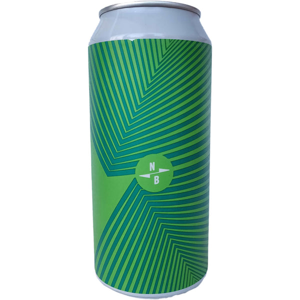 North Brewing Co x Edge Micro IPA 2.8% (440ml can)-Hop Burns & Black