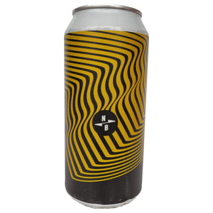 North Brewing Co Mystic Voyage Peanut Butter Milk Stout 8.5% (440ml can)-Hop Burns & Black