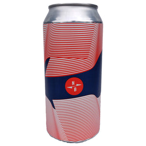 North Brewing x Track DDH IPA 6.5% (440ml can)-Hop Burns & Black