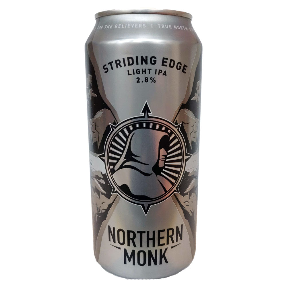 Northern Monk Striding Edge Micro IPA 2.8% (440ml can)-Hop Burns & Black