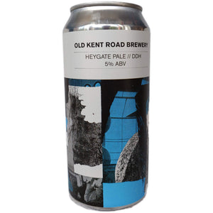 Old Kent Road Heygate Pale 5% (440ml can)-Hop Burns & Black