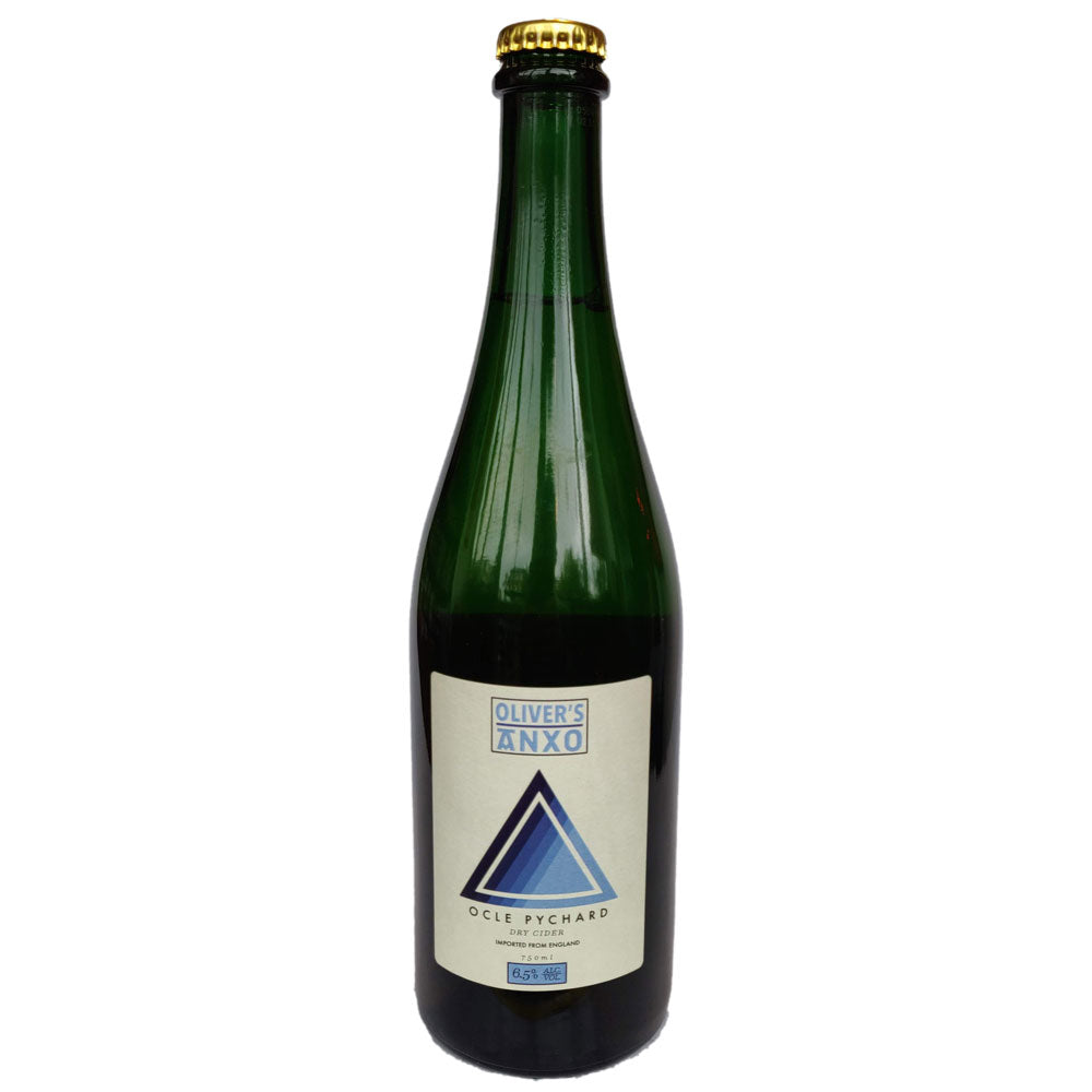 Oliver's x ANXO Ocle Pychard Dry Cider 6.5% (750ml)-Hop Burns & Black