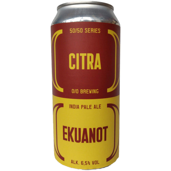 O/O Citra Ekuanot IPA 6.5% (440ml can)-Hop Burns & Black
