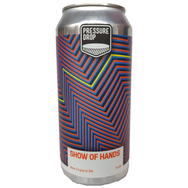 Pressure Drop Show of Hands NEIPA (440ml can)-Hop Burns & Black
