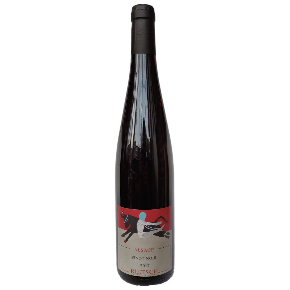 Domaine Rietsch Pinot Noir 2017 12.5% (750ml)-Hop Burns & Black