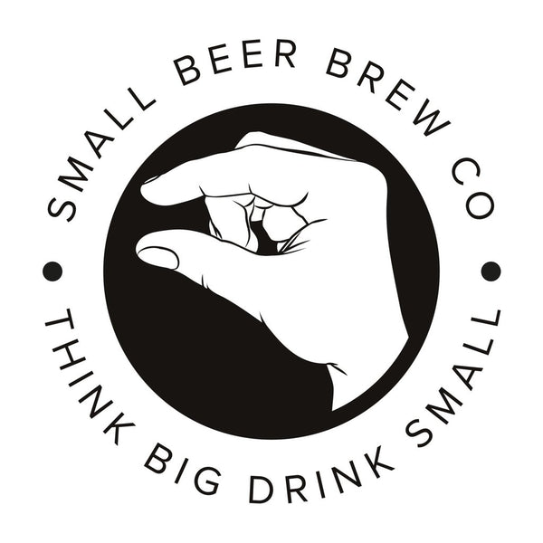 Small Beer Steam Lager 2.7% (350ml)-Hop Burns & Black