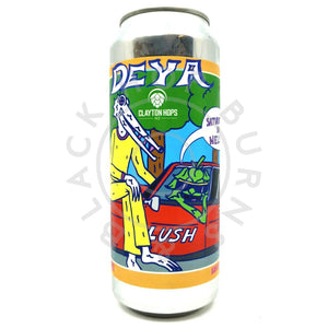 DEYA Saturated in Nelson DIPA 8% (500ml can)-Hop Burns & Black
