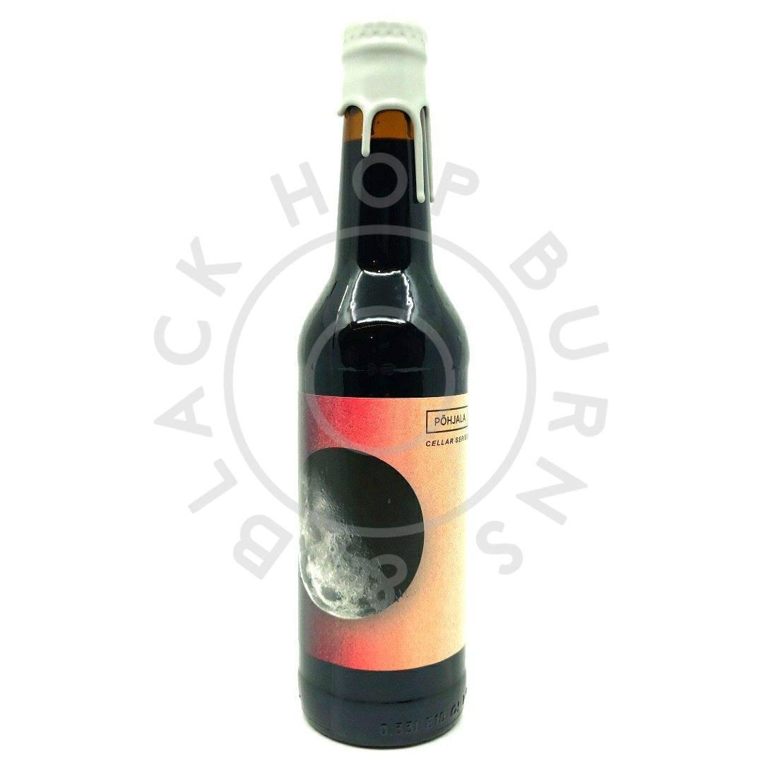 Pohjala Talveoo Rum & Bourbon BA (Cellar Series) Imperial Baltic Porter 11.5% (330ml)-Hop Burns & Black