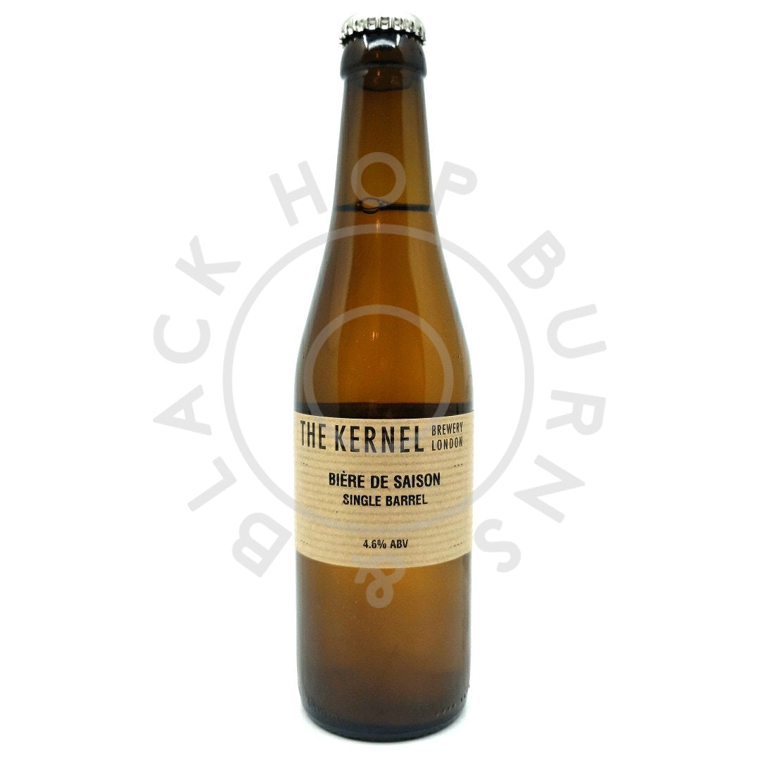 Kernel Biere de Saison Single Barrel 4.6% (330ml)-Hop Burns & Black