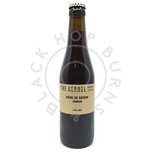 Kernel Biere de Saison Damson 4.6% (330ml)-Hop Burns & Black