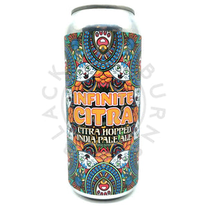 Pipeworks Brewing Infinite Citra IPA 7.3% (473ml can)-Hop Burns & Black