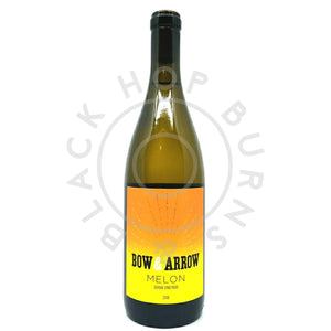 Bow & Arrow Melon Blanc 2018 11.5% (750ml)-Hop Burns & Black