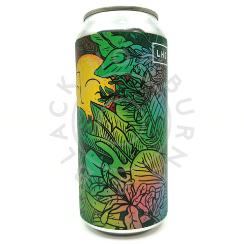 Left Handed Giant Plantasia IPA 6.5% (440ml can)-Hop Burns & Black