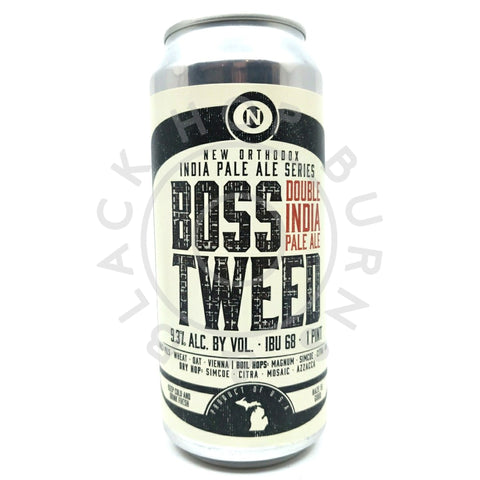 Old Nation Boss Tweed Double IPA 9.3% (473ml can)