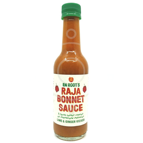 En Root Raja Bonnet Sauce - Lime & Ginger Kicker (250ml)-Hop Burns & Black