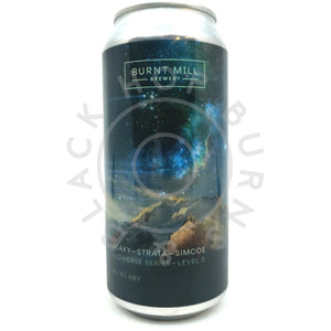 Burnt Mill Multiverse Series Level 3 IPA 6% (440ml can)-Hop Burns & Black