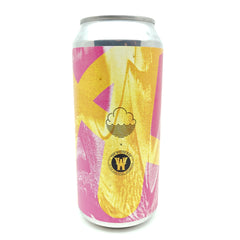 Cloudwater x White Hag Cairde Gan Teorainneacha Black IPA 6.2% (440ml can)-Hop Burns & Black